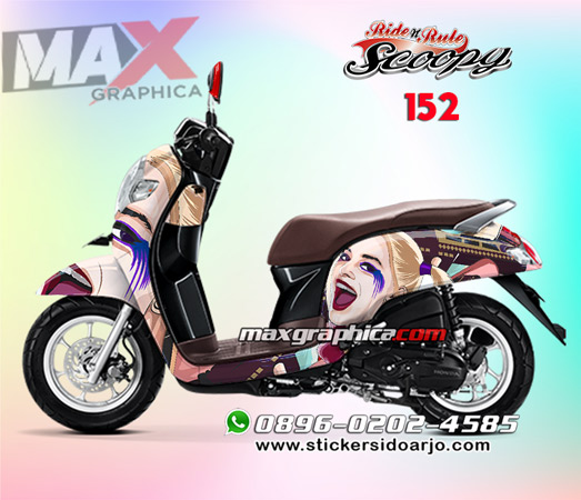 MOC-scoopy-152-HARLEY-QUEEN-FACE