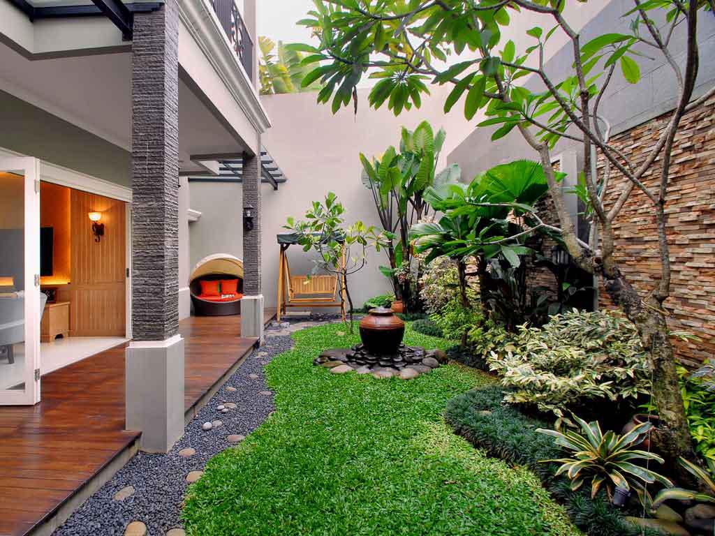Miliki Taman Surga Di Atas Rumah Anda Dengan Layanan Jasa Pembuatan Taman